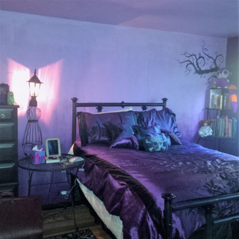 Gothic Bedroom Ideas Gothic Bedroom Decor Gothic Bedroom Decorating Gothic Furniture Gothic Bedding Goth Room Decor Black Bedrooms Purple Gothic Bedroom Gothic Glam Bedrooms